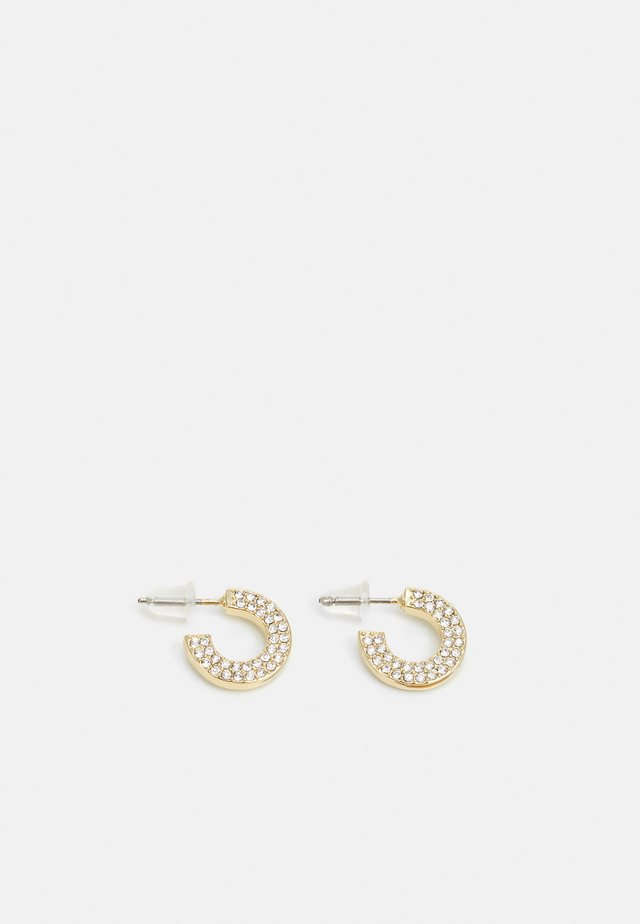 MARI SMALL OVAL EAR - Orecchini - gold-coloured/clear