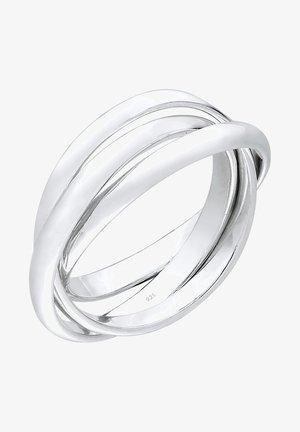 TRIO BASIC - Ring - silberfarben
