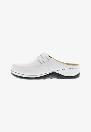 Clogs - weiß