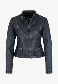 7eleven - SYDNEY - Leather jacket - navy - 4