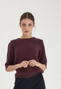 ICHI - IHOLTA  - Print T-shirt - crushed violets - 0