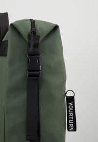 YOURTURN - Tagesrucksack - dark green - 5