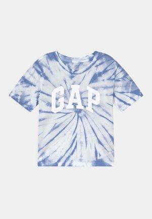 GIRLS LOGO UPDATE - Print T-shirt - blue