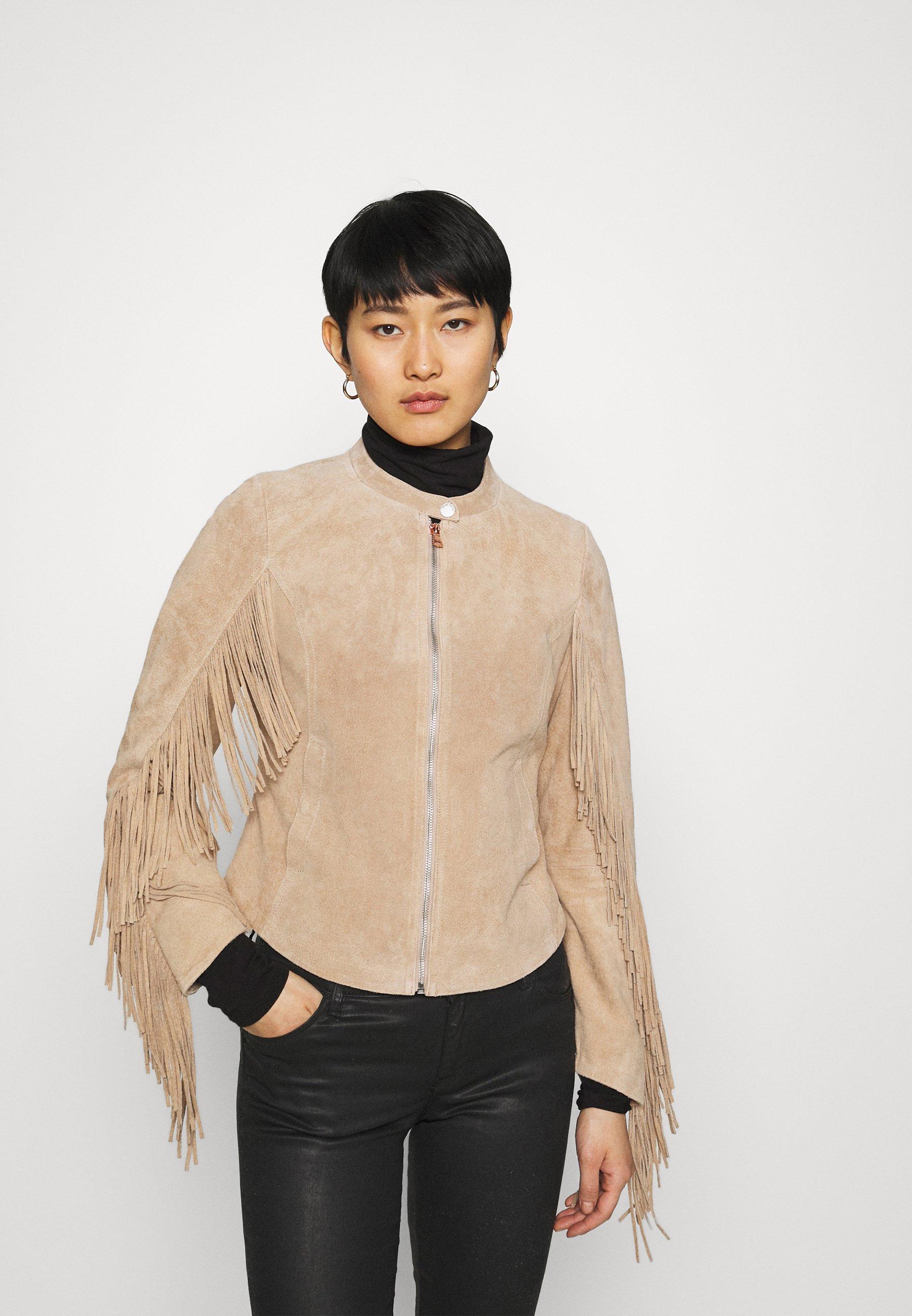 Women COACHELLA GIRL - Leather jacket