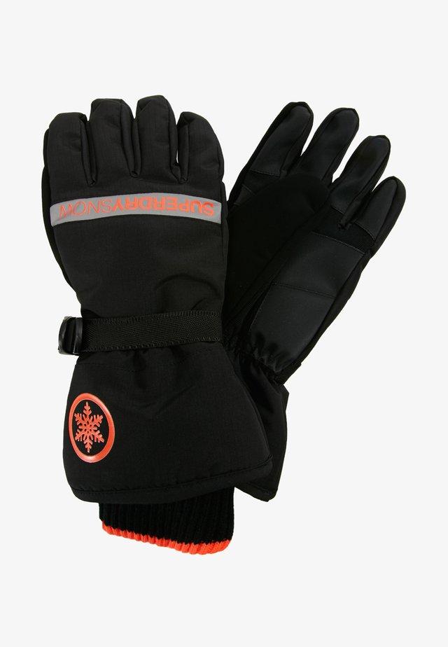 Guanti - black/hyper orange