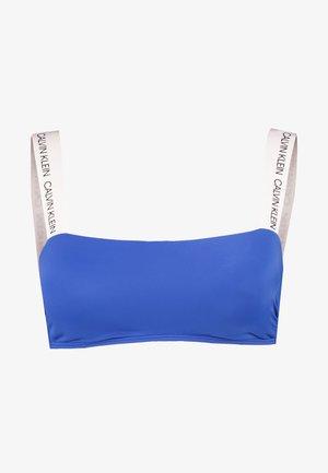 LOGO BANDEAU - Bikini top - nautical blue