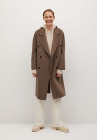 Mango - PICAROL - Classic coat - medium brown - 1