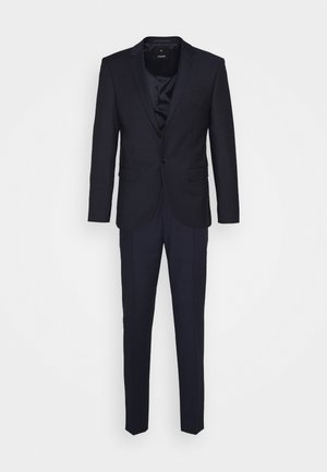 DAMON GUN - Suit - navy