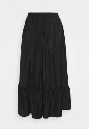 SKIRT ETOI - Áčková sukně - black