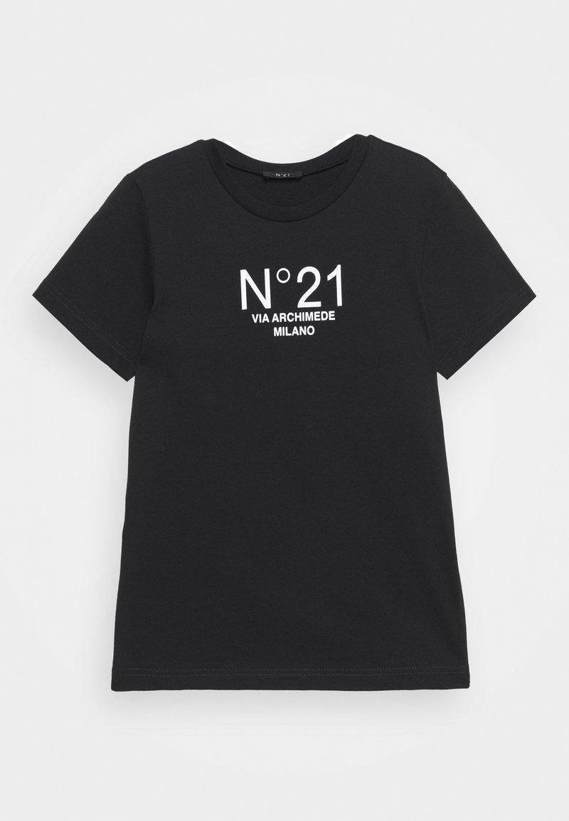 N°21 - MAGLIETTA UNISEX - Print T-shirt - black