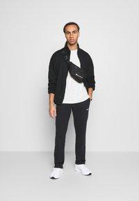 NU-IN - ZIP UP TRACK - Zip-up hoodie - black - 1