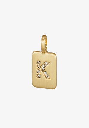 PENDANT LETTER - Pendant - gold-coloured