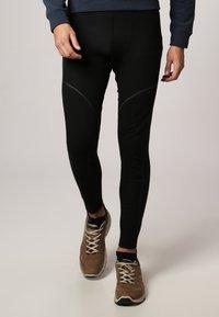 ODLO - LONG X-WARM - Dlouhé spodní prádlo - black - 1