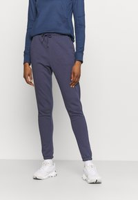 Columbia - LOGO™ FRENCH TERRY JOGGER - Tracksuit bottoms - nocturnal - 0