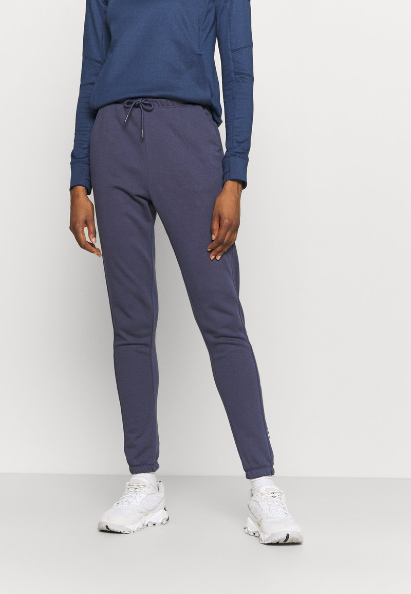 Columbia - LOGO™ FRENCH TERRY JOGGER - Tracksuit bottoms - nocturnal