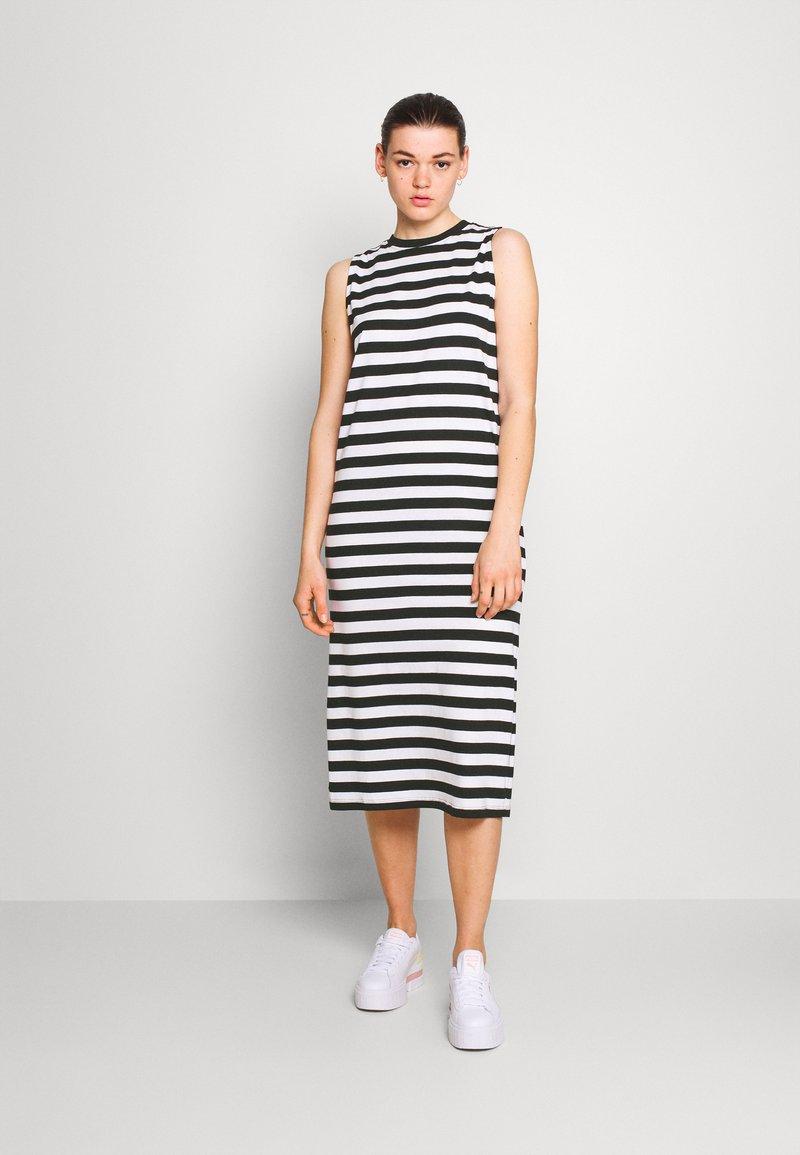 Even&Odd - Vestito di maglina - black/white