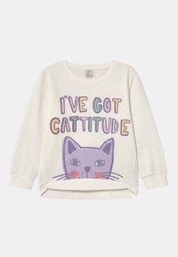 Lindex - MINI CAT - Sweatshirt - light dusty white - 0