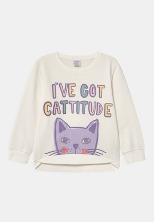 MINI CAT - Sweatshirt - light dusty white