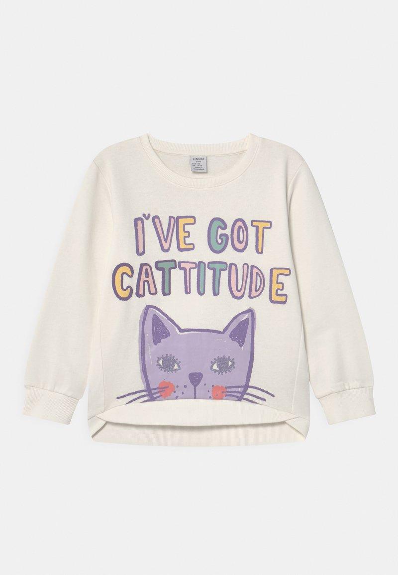 Lindex - MINI CAT - Sweatshirts - light dusty white