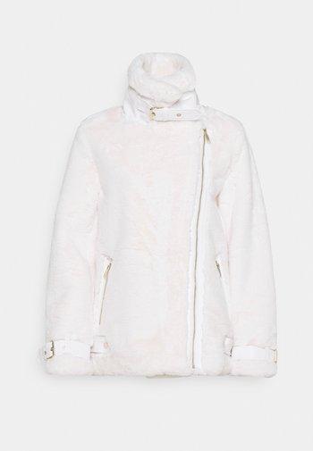 Winter coat - cream