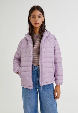 BASIC-STEPP  - Gewatteerde jas - mauve