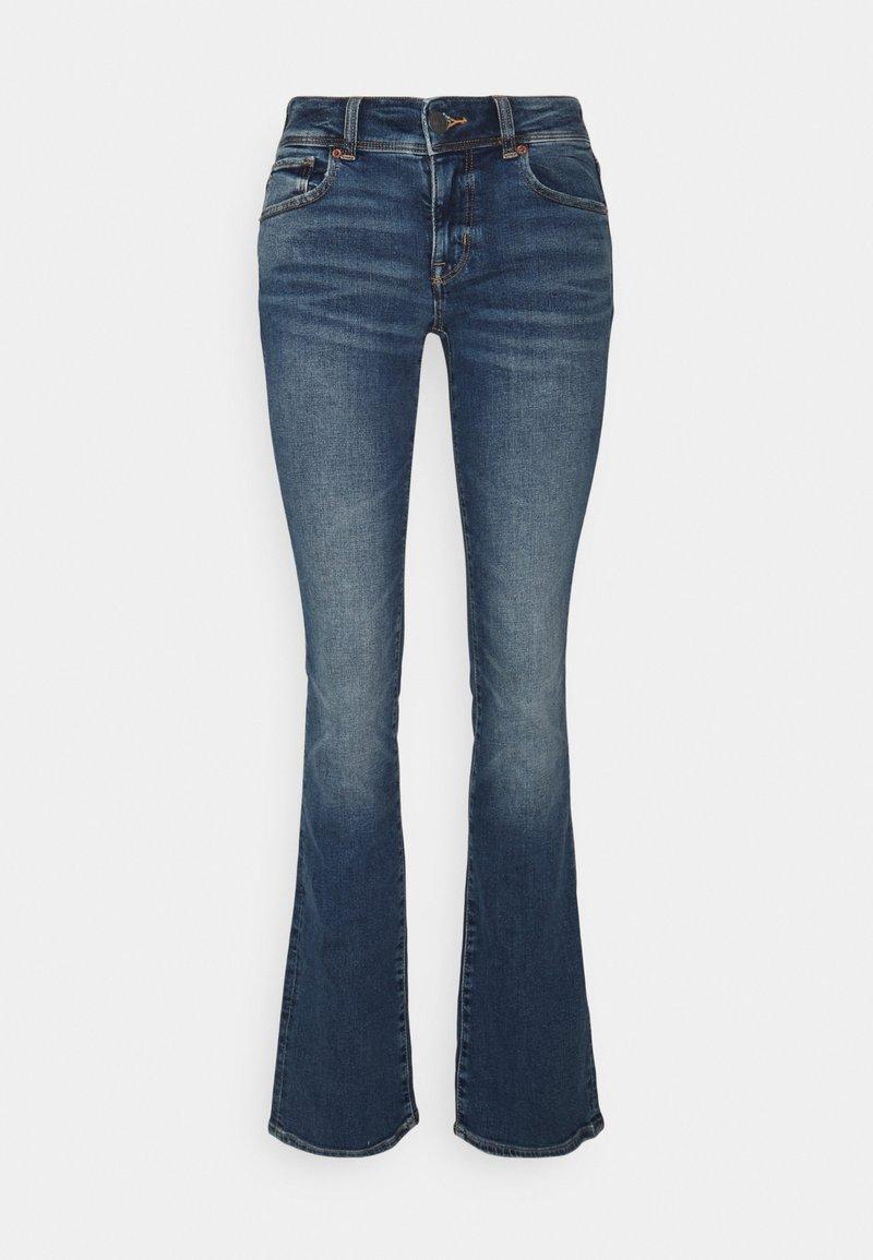 American Eagle - KICK BOOT - Flared Jeans - indigo waters