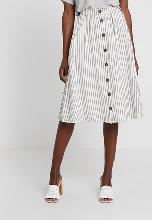 TEXTURE - A-line skirt - off white