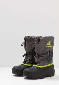 Kamik - SOUTHPOLE4 - Winter boots - charcoal/charbon - 3