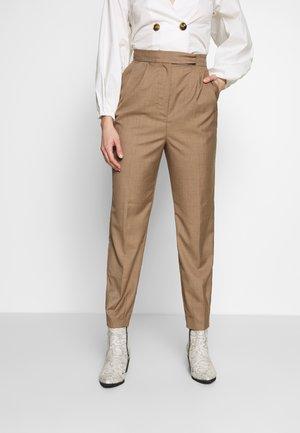 NEW PLATFORM PANT - Bukse - taupe