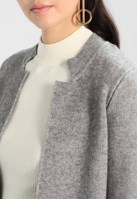 Morgan - BLOCK - Cardigan - grey - 3