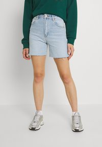 Abrand Jeans - CLAUDIA CUT OFF - Jeansshorts - gina - 0