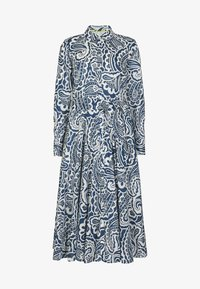 Boden - Shirt dress - dunkles petrolblau, sommerliches paisleymuster - 4