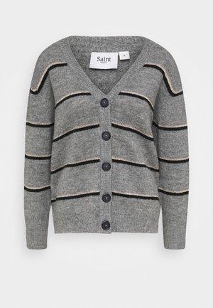 COCOSZ CARDIGAN - Cardigan - cool grey melange