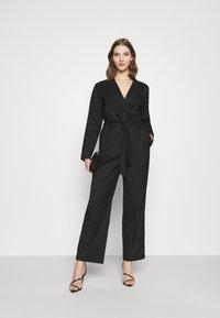 Monki - KATRINE SUITINS - Overall / Jumpsuit - black solid - 1