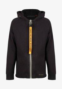 ONCE WE WERE WARRIORS - Zip-up sweatshirt - schwarz - 0