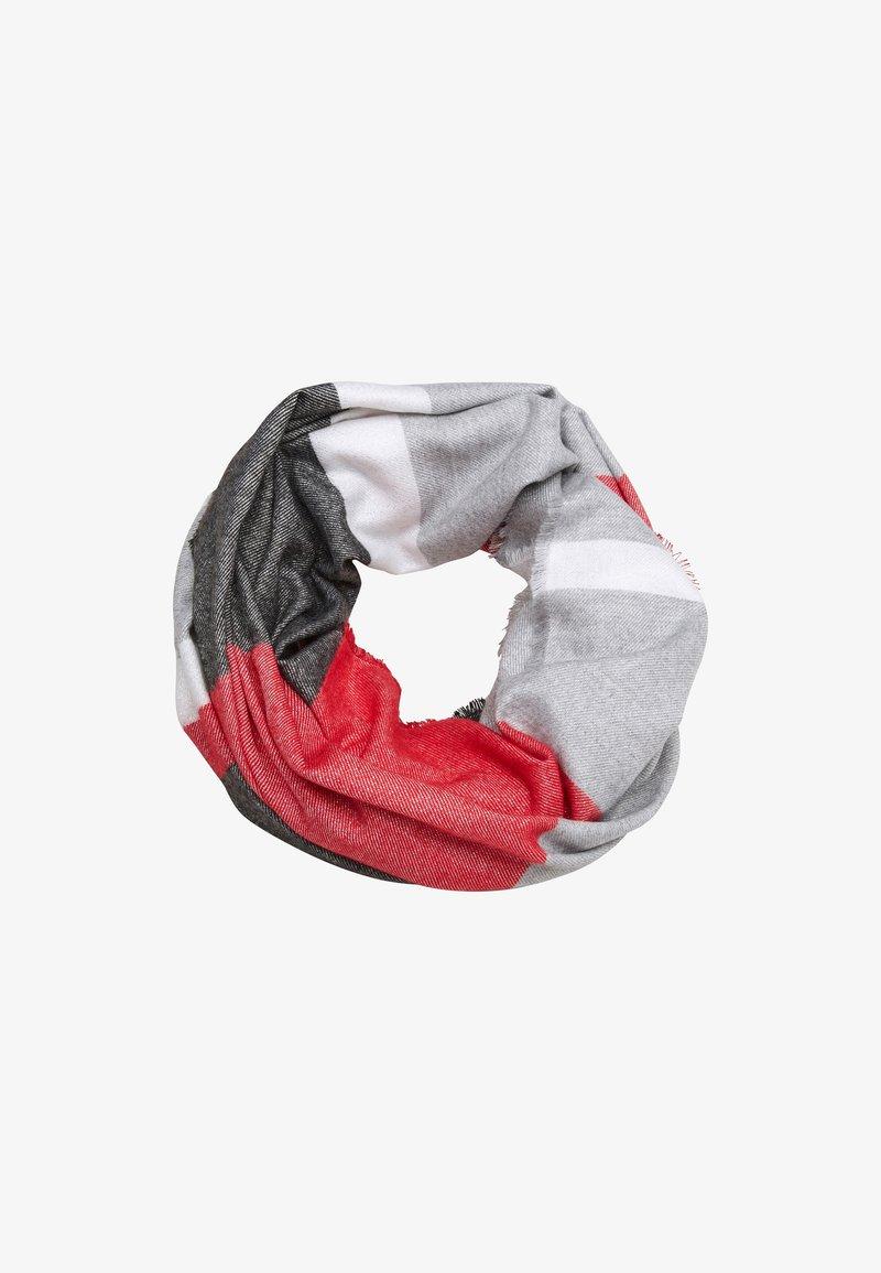 s.Oliver - GLITZER - Snood - red stripes