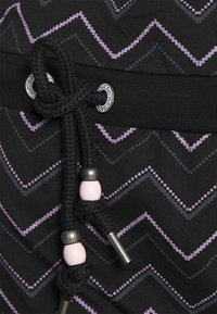 Ragwear - ALEXA ZIG ZAG - Denní šaty - black - 5