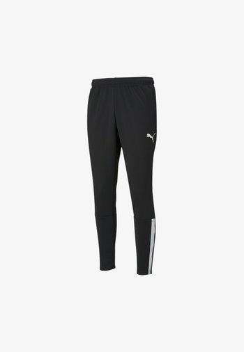 TEAMLIGA TRAINING PANTS - Pantalon de survêtement - puma black-puma white