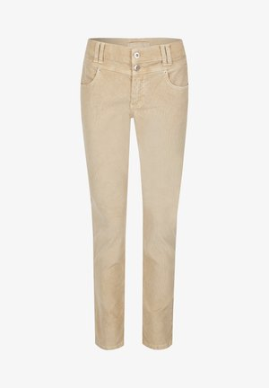 COLOURED CORD - Jeans Skinny Fit - camel