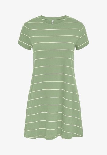 Jersey dress - desert sage