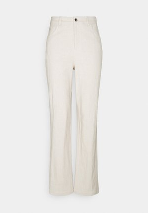 POCKET PANTS - Trousers - beige