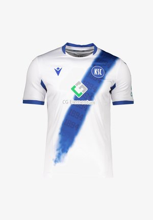REPLICAS  NATIONAL KARLSRUHER SC AUTHENTIC - T-shirt print - weiss