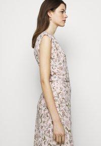 Lauren Ralph Lauren - VILODIE CAP SLEEVE CASUAL DRESS - Vestido informal - pink multi - 3