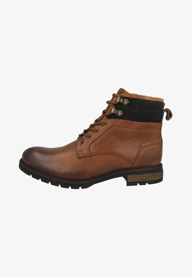 LEVICO UOMO HIGH - Bottines à lacets - brown