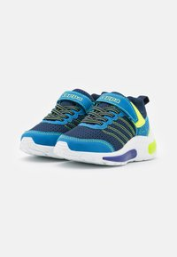 Kappa - UNISEX - Sports shoes - navy/lime - 1