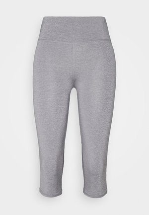 ACTIVE CORE CAPRI - 3/4 sports trousers - mid grey marle