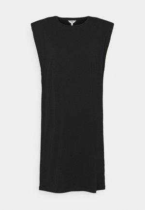 OBJSTEPHANIE JEANETTE DRESS - Sukienka z dżerseju - black