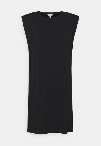 OBJSTEPHANIE JEANETTE DRESS - Jersey dress - black