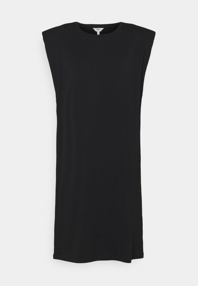 OBJSTEPHANIE JEANETTE DRESS - Jerseyjurk - black