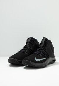 Nike Performance - AIR VERSITILE IV - Basketball shoes - black/metallic cool grey/anthracite - 2